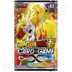 DRAGON BALL SCG 3 Cross Worlds Booster